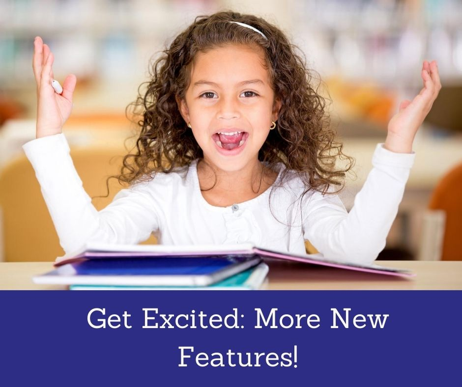 child with book excited about learning Saxon math